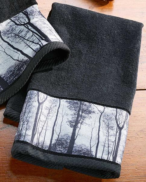 4245728913:Mystic Forest Hand Towel