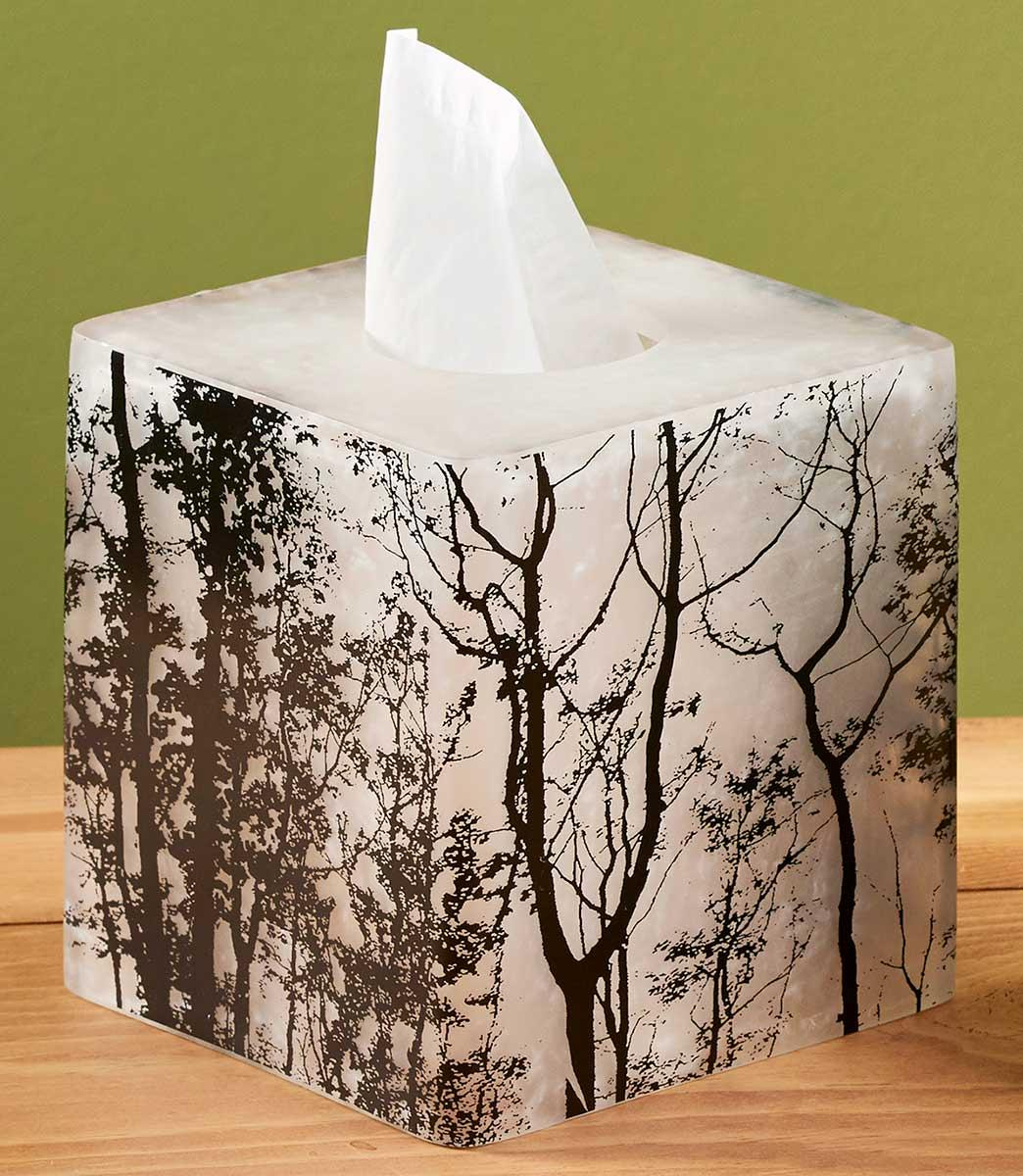4245728909: Mystic Forest Tissue Box Cover