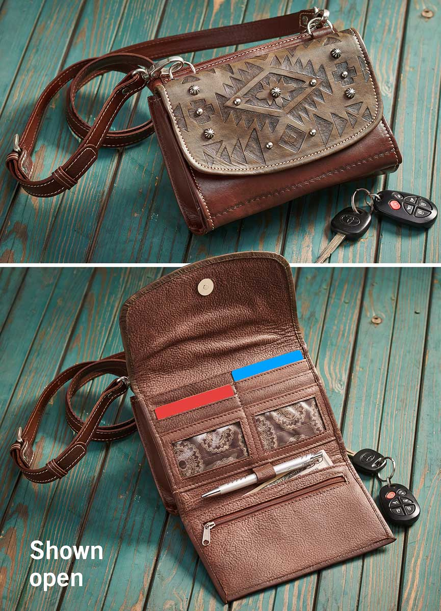 4030518301: Tribal Shadow Cross Body Bag