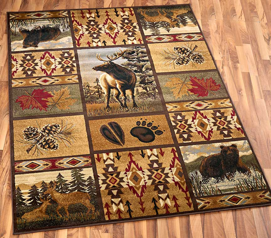 40428677SS:Wildlife Fever Area Rug Collection