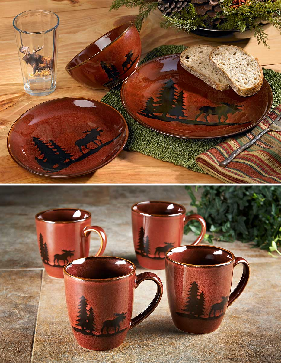 8223136801IG: Moose Woodland Dinnerware Collection