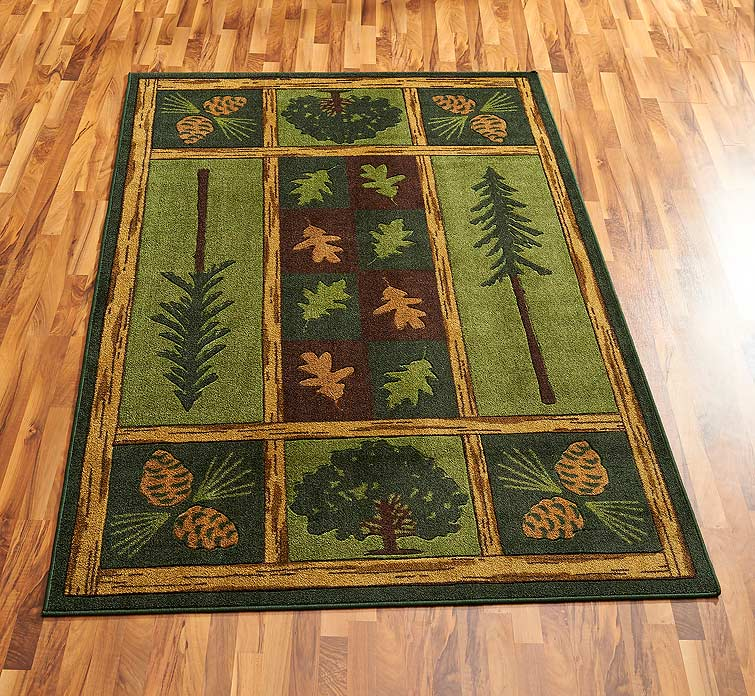 40478789SS: Woodland Escape Area Rug Collection