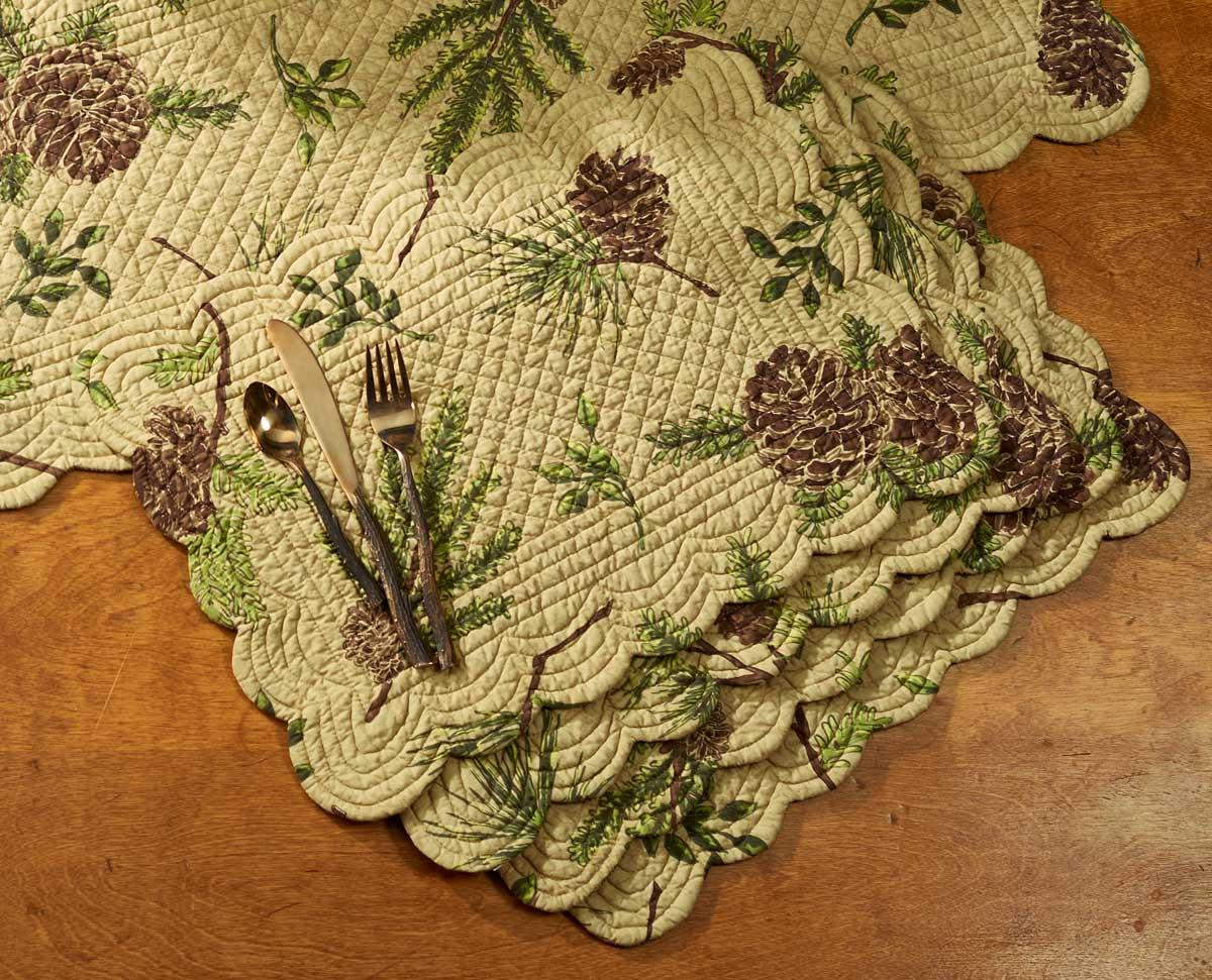 4143879114: Pine Lodge Placemats